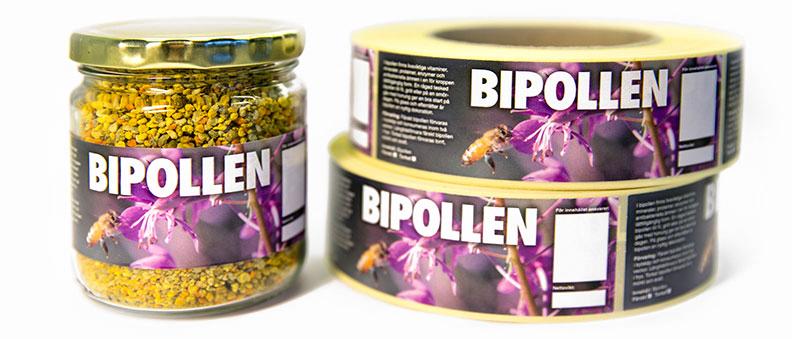 Etiketter för bipollen