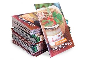 Honung - Broschyr - Honungsbroschyr