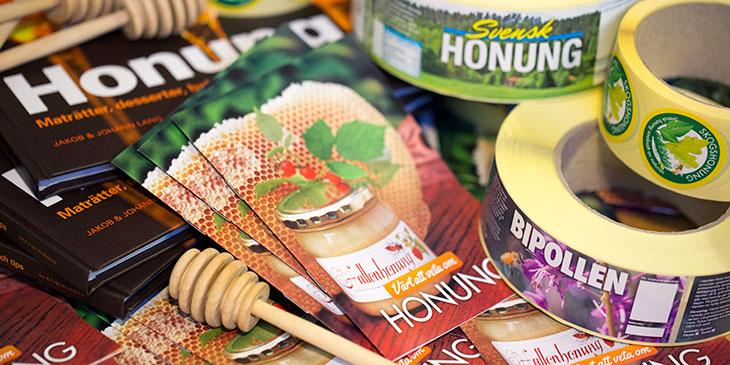 Säljmaterial för biodlare
