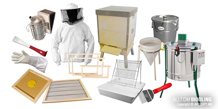 Biredskap - Utrustning för Biodling