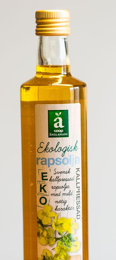 Ekologisk Rapsolja
