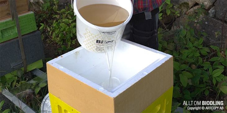 Foderlåda - Biodling - Biredskap