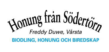 Freddy Duwe - Honung från Södertörn - Biredskap, Biodling och Honung