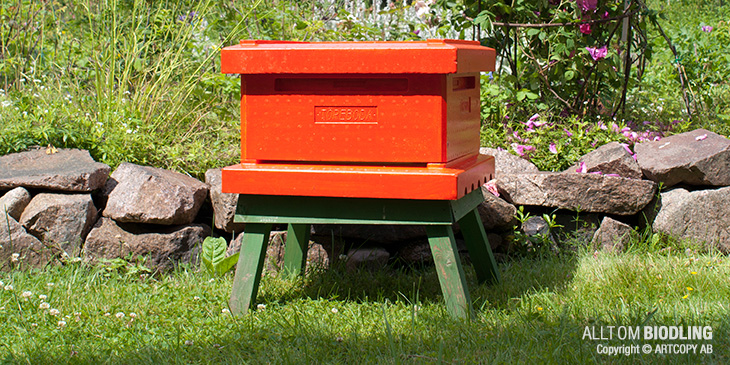 Benställning till bikupa