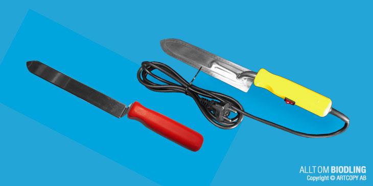 Avtäckningskniv - Biredskap - Biodling