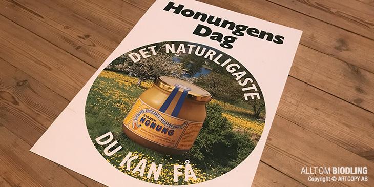 Biodlingens dag - Honungens dag - Honungsbiets dag