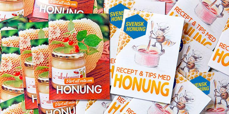 Broschyr - Broschyrer - Honung - Recept - Biodling