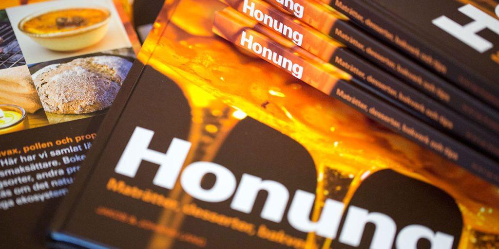 Honung bok - Honungsbok - Bok om honung