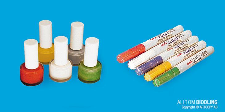 Märkfärg - Årsfärger - Biredskap - Biodling