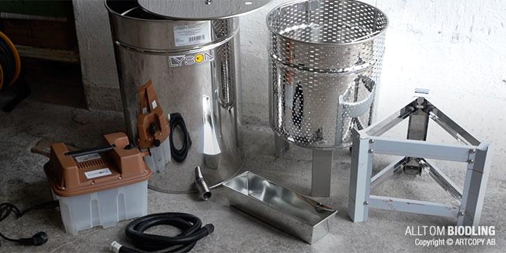 Vaxsmältare med ånggenerator - Biredskap - Biodling